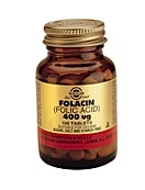 Solgar Folacin Foliumzuur 400 �G (250 Tabl)