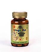 Solgar Kangavites Tropical Punch Chewable (60 Kauwtabl)
