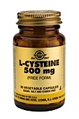 Solgar L-cysteine 500mg (30 Caps)