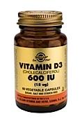 Solgar Vitamin D3 600 Iu (60 Vega Caps)