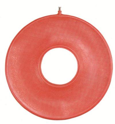 Able 2 Ringkussen Opblaasbaar Rubber 41 Cm (1st)