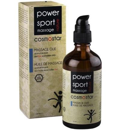 Cosmostar Massage Olie Sport Power Reviving Energy (100ml)