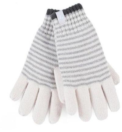 Heat Holders Ladies Cable Gloves S/m Oslo Cream (1paar)