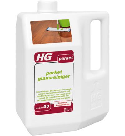 Hg Parket Wash & Shine Glansreiniger 53 (2000ml)