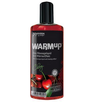 Joydivision Warm-up Massage Olie - Kers (150ml)