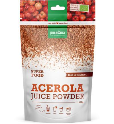 Purasana Acerola Powder Bio/vegan (100g)