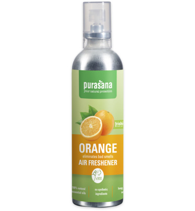 Purasana Frishi Luchtverfrisser Orange Essentiele Olien (100ml)