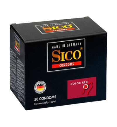 Sico Sico Color Red Aardbei Condooms - 50 Stuks (50stuks)