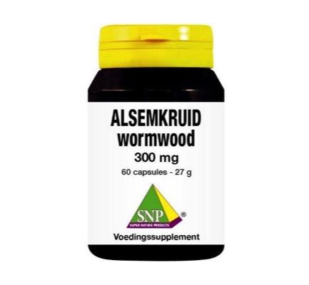 Snp Alsemkruid Wormwood 300mg Puur (60ca)