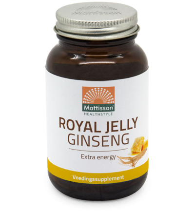 Mattisson Ginseng+ Royal Jelly (60ca)