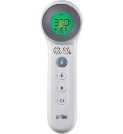 Braun Voorhoofdthermometer Bnt 400we (1st)