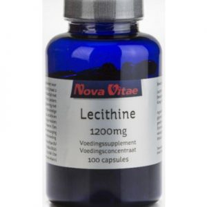 Nova Vitae Lecithine 1200 Mg (100ca)