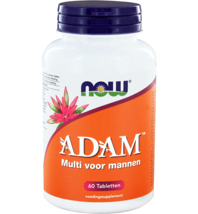 Now Adam Multivitamine Voor Mannen (60tb)