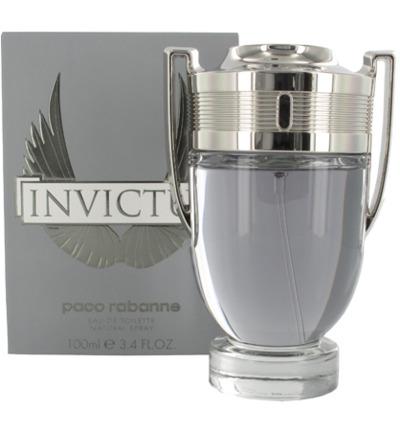 Paco Rabanne Invictus Eau De Toilette Natural Spray (100ml)