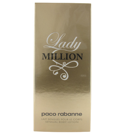 Paco Rabanne Lady Million Sensual Bodylotion (200ml)