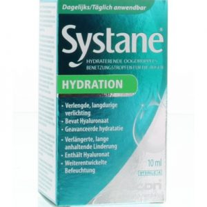 Systane Hydration Oogdruppels Hyaluronzuur (10ml)