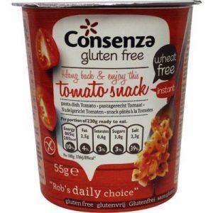 Consenza Instant Macaroni Met Tomaat (55g)