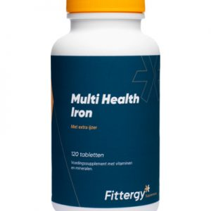 Fittergy Multi Health Iron (120tb)