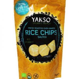 Yakso Rice Chips Salted Bio (70g)