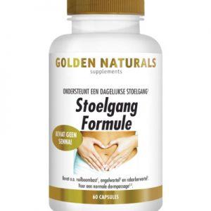 Golden Naturals Stoelgang Formule (60ca)