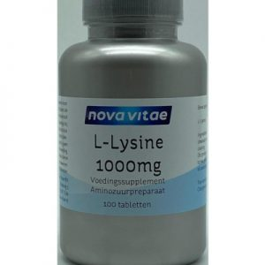 Nova Vitae L-lysine 1000 Mg (100tb)