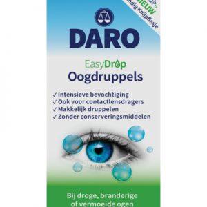 Daro Easydrop Oogdruppels Bij Droge, Branderige Of Vermoeide Ogen (10ml)