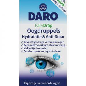 Daro Easydrop Oogdruppels Hydratie & Anti-staar (10ml)