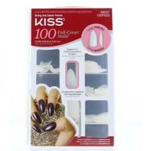 Kiss Full Cover Nails Stiletto (1set)