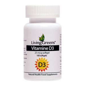 Livinggreens Vitamine D3 25 Mcg (100sft)