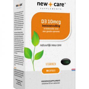 New Care Vitamine D3 10 Mcg (100ca)
