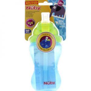 Nuby Flip It 12m+ 360 Ml Blauw (1st)